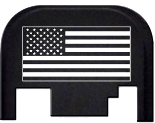 Glock Back Plate - Flag